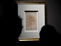 Autoportretul lui Leonardo da Vinci s-ar putea pierde pentru totdeauna. In ce stare e acum