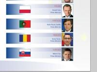 Victor Ponta apare in prezentarea oficiala a summitului.