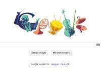 Google il omagiaza astazi pe dirijorul roman Sergiu Celibidache, nascut acum de 100 de ani