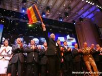 Boc: Introducerea stemei pe drapel nu este o solutie benefica, insemnele trebuie sa ramana constante