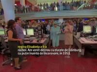 Regina Elisabeta a II-a a vizitat noul sediu BBC si a vorbit despre starea de sanatate a sotului ei