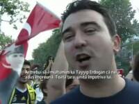 PROTESTE IN TURCIA. Fanii rivalelor Galatasaray, Besiktas si Fenerbahce, uniti impotriva lui Erdogan