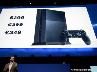 Sony a prezentat consola PlayStation 4, atacand produsul rival de la Microsoft cu un pret mai mic