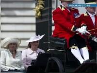 Ducesa de Cambridge a avut ultima aparitie publica inainte sa nasca, la aniversarea Reginei