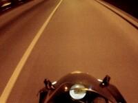 Inconstienta record pentru un motocilist. Viteza nebuna atinsa in Capitala, in plina zi. VIDEO