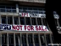 Justitia greaca a suspendat temporar masura inchiderii radiodifuziunii publice elene