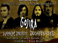 GOJIRA, cea mai buna trupa LIVE la premiile Golden Gods ale Metal Hammer, concerteaza in Romania