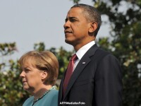 Barack Obama in vizita la Berlin, la 50 de ani dupa discursul istoric al lui John F. Kennedy