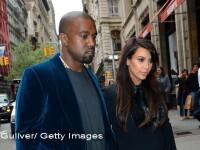Secretul dezvaluit de o asistenta. Cum se va numi fetita cuplului Kim Kardashian - Kanye West