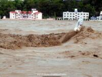 Imaginile musonului din India care a ucis 138 de persoane pana in prezent