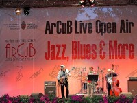 Muzica de film, jazz si blues in Piata George Enescu din Bucuresti