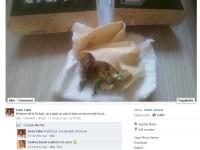Ce a gasit un barbat din Romania intr-un sandvis cumparat de la fast-food
