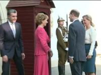 Vizita oficiala din partea familiei regale britanice. Printul Edward si contesa Sophia, in Romania