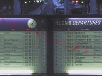Tabela de sosiri-plecari din Gara de Nord, afisata online de CFR in cel mai romanesc mod cu putinta