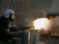 Imaginile unei aniversari violente in Turcia. Mii de turci furiosi s-au luptat cu politistii mobilizati de premierul Erdogan