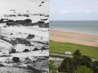 Aici s-a dat batalia decisiva pentru Europa. Locurile debarcarii din Normandia, acum 70 de ani si azi. IMAGINI INTERACTIVE