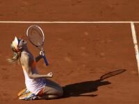 SIMONA HALEP - MARIA SHARAPOVA, finala Roland Garros in imagini. Trairile celor doua sportive, pe parcursul meciului. FOTO