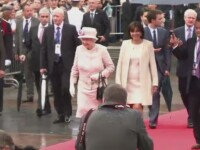 Ceremoniile dedicate Debarcarii din Normandia continua. O piata de langa Notre Dame a primit numele Reginei Marii Britanii