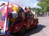 Campionatul Mondial de Fotbal 2014. Cine este fanul care a condus 21.000 de km ca sa ajunga in Brazilia cu o masina din 1955