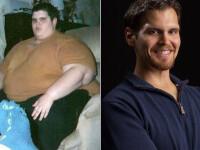 Vointa de fier pentru un american. De la un adolescent obez, de 383 de kg, a ajuns la un corp de invidiat
