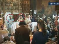 Meci de box in fata altarului intre doi preoti din Buzau. Scandalul a plecat, cum altfel, de la bani