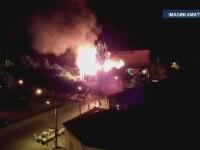 Incendiul devastator care a mistuit o cladire de patrimoniu din zona Obor a fost PROVOCAT. Ce piste au autoritatile