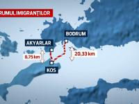 Insulele grecesti NU mai fac fata valului de imigranti sirieni.