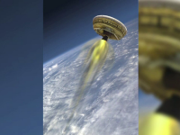 NASA testeaza o noua naveta spatiala. Cum arata farfuria zburatoare desprinsa parca dintr-un film SF