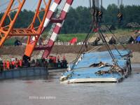 Bilantul accidentului de feribot din China a ajuns la 396 de morti.