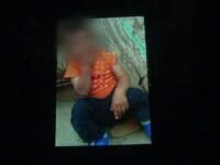 Copil de un an si 7 luni, cautat de jandarmi, politisti si militari, dupa ce mama i-a anuntat disparitia. Unde l-au gasit