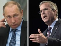 Jeb Bush, fratele fostului presedinte american: Putin este un bataus pe care SUA trebuie sa-l trateze cu fermitate. VIDEO
