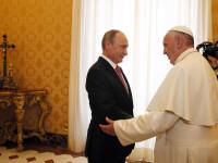 The Guardian: De ce intarzie mereu Vladimir Putin? Liderul de la Kremlin, criticat ca l-a facut pe Papa sa astepte o ora