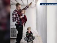 15.000 de romani si-au luat concediu de paternitate. Cum arata o zi din viata unui tata modern care sta acasa cu copilul