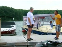 Scandal in Snagov intre riverani si custodele lacului.