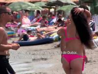 Turistii au ramas la mare in week-end fiindca era mai cald ca acasa. Ce spune un strain despre Mamaia si Dubai