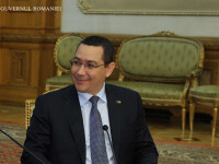 Premierul Ponta: