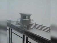 Zapada in luna iunie in Romania. Unde a nins la doar o zi dupa solstitiul de vara