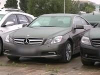 Parcarea in care un Mustang, un Rolls Royce si multe Mercedes-uri au fost lasate gaj. Avantajele si riscurile creditelor auto