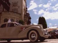 Concurs cu masini de epoca la Castelul Peles. Cu ce autoturism a participat Principele Radu