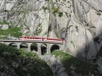Cel mai lung tunel din lume strapunge Alpii elvetieni si a costat 12 mld. dolari. Ingineria care bate toate recordurile. FOTO