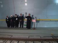 Elvetia a inaugurat cel mai lung tunel feroviar din lume. Constructia a fost sfintita de preoti