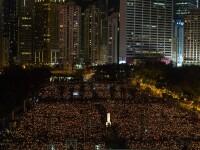 Mii de oameni au comemorat masacrul din Piata Tiananmen. Regimul comunist chinez a