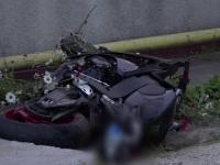 Motociclist de 26 de ani, mort pe loc la impactul cu o masina. Martor: