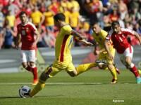 Romania - Elvetia 1-1. Bogdan Stancu a marcat din penalty, iar Mehmedi a egalat dupa un corner. REZUMAT VIDEO