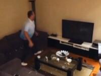 Ce farsa i-a facut prietena unui barbat din Turcia, in timpul meciului impotriva Croatiei, incat acesta a distrus televizorul