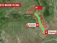 Harta NEAGRA a drumurilor periculoase din Romania naste o noua profesie. Cum vor fi stabilite traseele cu risc maxim