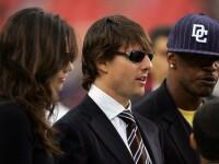 Una dintre fostele sotii ale lui Tom Cruise are o relatie cu actorul Jamie Foxx. Ipostaza in care ar fi fost surprinsi