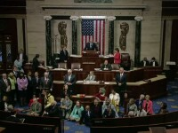 Tensiuni in Congresul american. Protest inedit in sala de sedinte in legatura cu legea impotriva armelor de foc