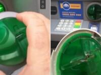 Momentul in care un turist descopera un cititor de carduri fals la un bancomat din Viena. Ce a filmat barbatul. VIDEO
