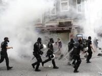Violente la Marsul Diversitatii din Istanbul, dupa ce politia a folosit gaze lacrimogene asupra multimii